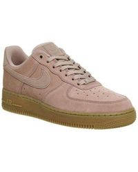 Nike Pink Air Force One (m) for men