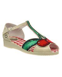 Miss L-fire Natural Cherry Pop Sandals