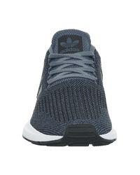 Adidas - Blue Swift Run Trainers - Lyst