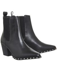 Office Black Angeles Chelsea Boots