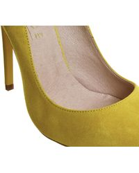 Office | Yellow On To Point Court Heels | Lyst