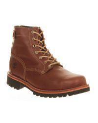 Timberland | Brown Heritage Ltd Back Zip Boot for Men | Lyst