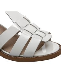 Office - White Wiley Geek Sandal - Lyst