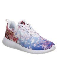 Nike | White Roshe Run | Lyst