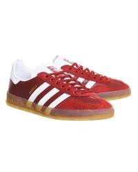 Adidas Originals Red Gazelle Indoor for men