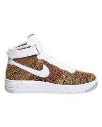 Nike Brown Af1 Flyknit for men