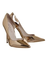 Office - Pink Natalie Dorsay Point Courts Heels - Lyst