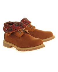 Timberland - Brown Authentics Roll Top - Lyst