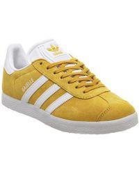 Adidas Yellow Gazelle