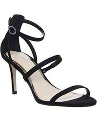 Office - Black Marlow Single Sole Strappy Sandals - Lyst