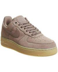 Nike Purple Air Force 1 07