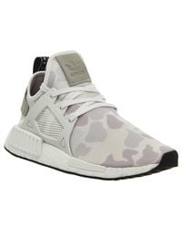 Adidas White Nmd Xr1 Sneakers
