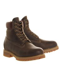 Timberland Brown 6 In Vintage Boot for men
