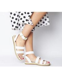 Office White Sunny- Rope Sole Sandal