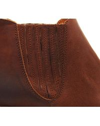 Office Brown Indiana Point Western Boots