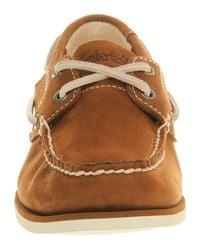 Timberland Brown Womens Boat Shoe Classic for men