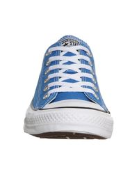 Converse Blue All Star Low
