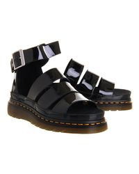 Dr. Martens Black Shore Clarissa Chunky Strap Sandal