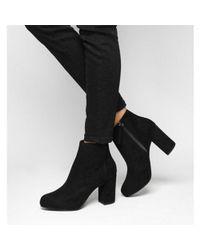 Office Black Ambience Dressy Platform Boot