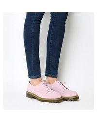 Office Pink Force Lace Up