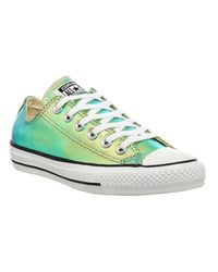 Converse Green All Star Low