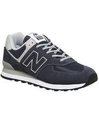 New Balance Blue 574 for men