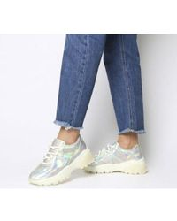 Office Gray Freestyler Hiker Lace Up