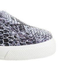 Office Blue Kicker Slip On Shoes