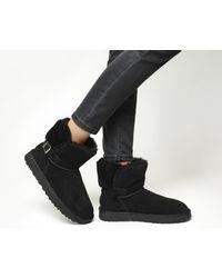 Ugg - Black Karel Boots - Lyst