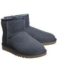 Ugg - Blue Classic Mini Ii Boots - Lyst