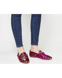 Office Pink Destiny Trim Loafers
