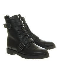 Office Black Underneath Boot