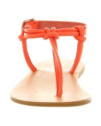 Office Orange Irresistable Sandal