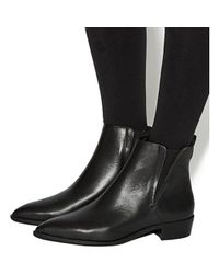 Office Black Imply Point Chelsea Boots