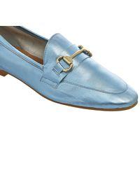 Office - Blue Destiny Trim Loafers - Lyst