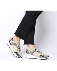 Office Natural Fella Glam Lace Up Runner