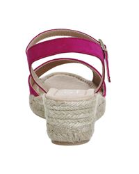 Office Pink Moma Espadrille Sandals