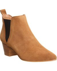 Office - Brown Coolcat Almond Toe Chelsea Boots - Lyst