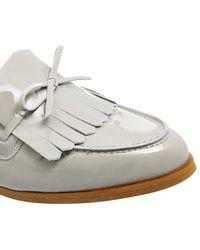 Office Gray Limelight Fringe Loafers