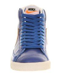 Nike Blue Blazer Mid for men