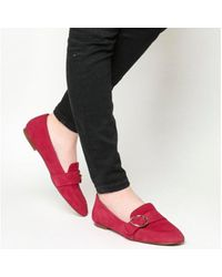Office Red Freeway Buckle Loafer