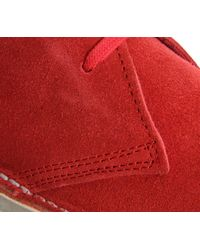 Office - Red Uphill Desert Boots - Lyst