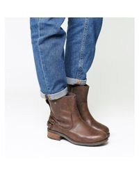 Ugg Brown Orion Back Strap Boot