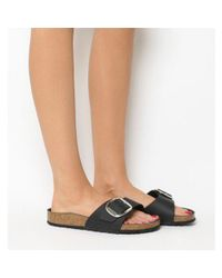 Birkenstock Black Madrid Big Buckle