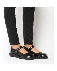 Kickers Black Kick Bar Shoe