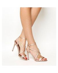 Office Pink Hope Strappy Heeled Sandals