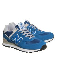 New Balance Blue M574 for men