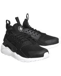 Nike Black Huarache Run Ultra Ps for men