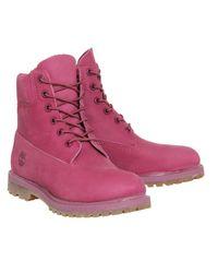 Timberland - Purple Premium 6 Boots - Lyst