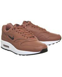 Nike Brown Air Max 1 Jewel for men
